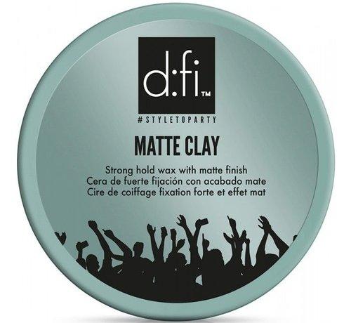 D:fi Matte Clay Strong Hold Wax