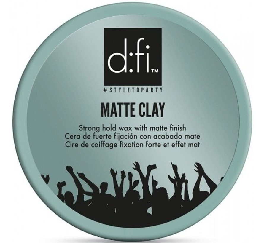 Matte Clay Strong Hold Wax