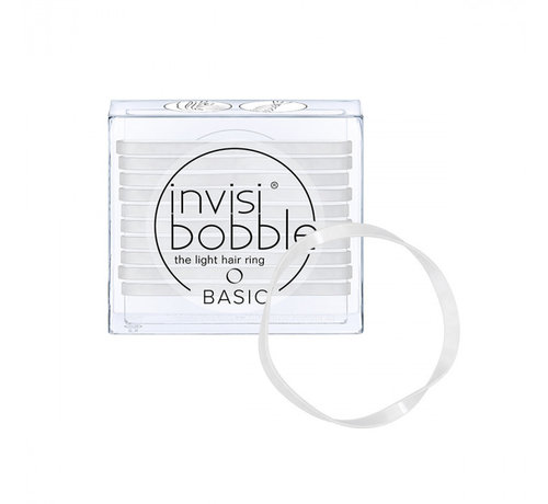 Invisibobble Traceless Hair Ring Crystal Clear - Basic