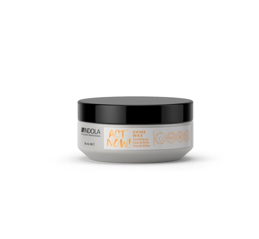 ActNow Shine Wax - 85ml
