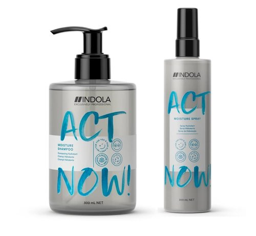 Indola ActNow Moisture Set - 300ml+200ml