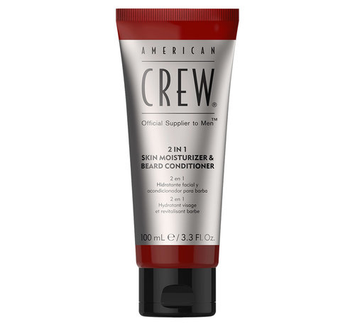 American Crew 2-1 Skin Moisturizer & Beard Conditioner - 100ml