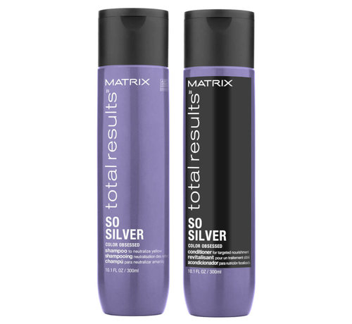 Total Results So Silver Set - 2X300ml