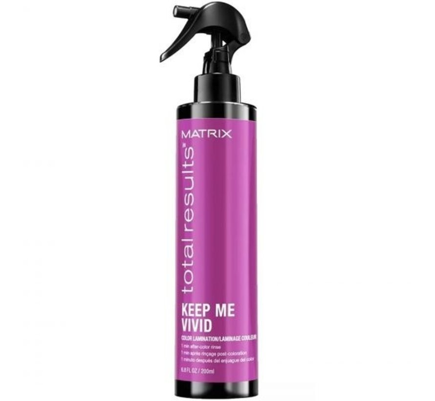 Total Results Color Lamination Colored Hairspray - 200ml