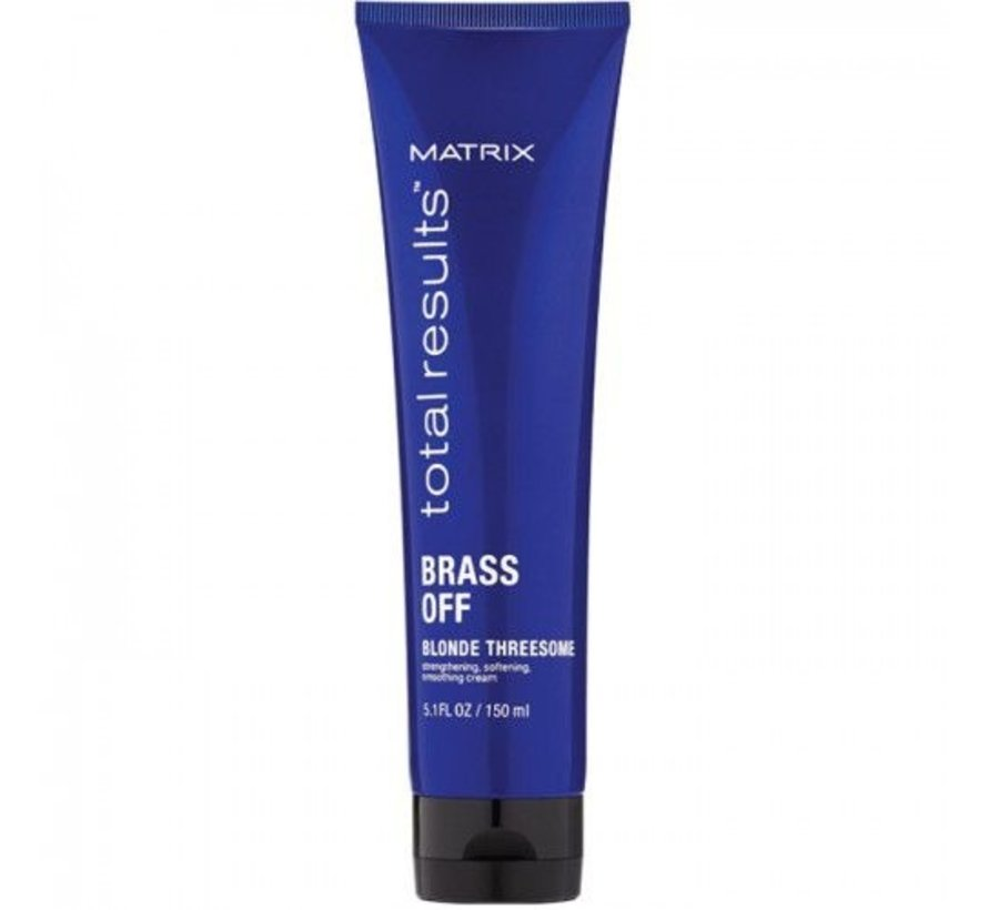 Total Results Color Obsessed Brass Off Leave-in - 150ml