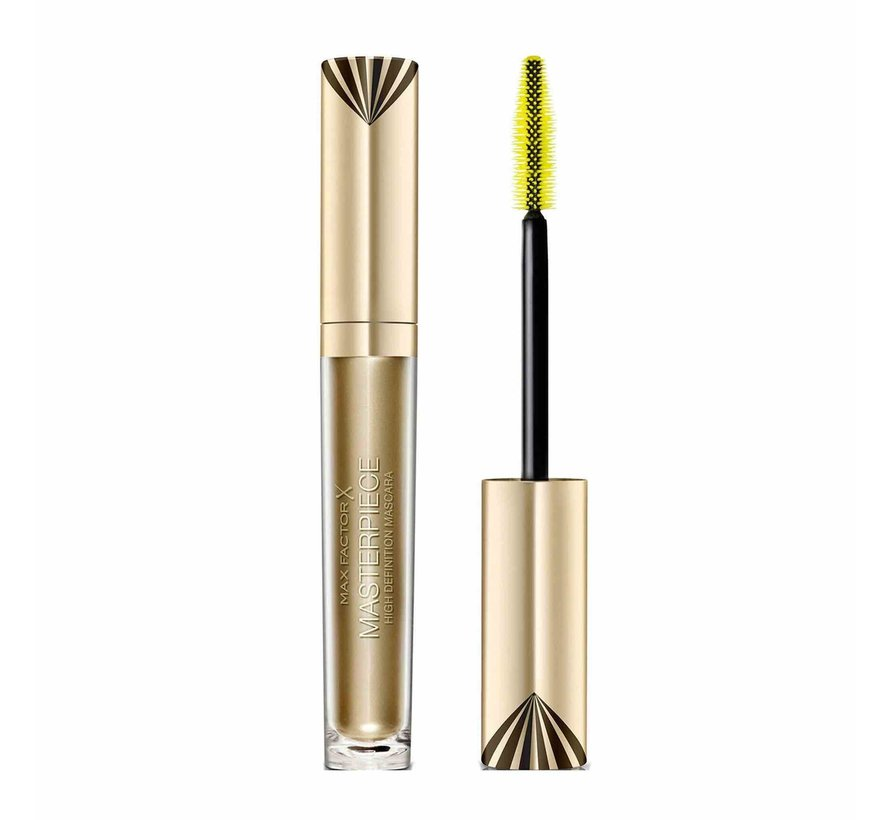 Masterpiece High Definition Rich Black Mascara - Black - 4,5ml