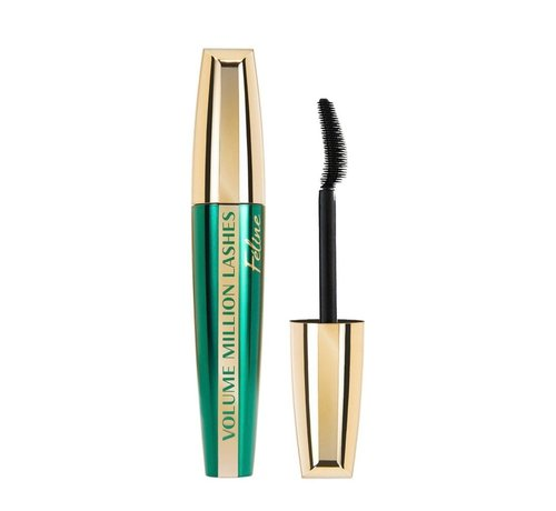 L'Oreal Paris Volume Million Lashes Mascara - Feline  - Black -  9,2ml