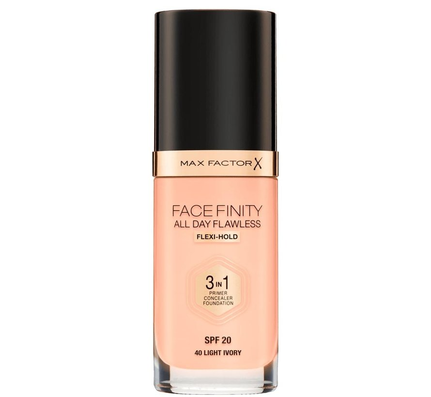 Facefinity 3 in 1 All Day Foundation - 30ml