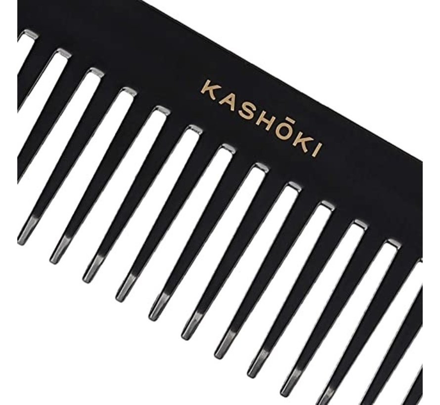 Wide Tooth Detangling Comb Kazuko - Straight