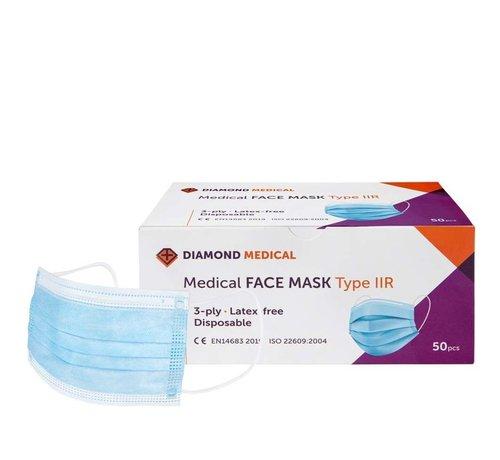 Medizinischer MundSchutz Typ II - 50 Stk