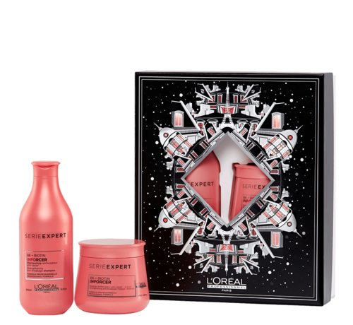 L'Oreal Inforcer Luxe Giftbox - 300+250ml