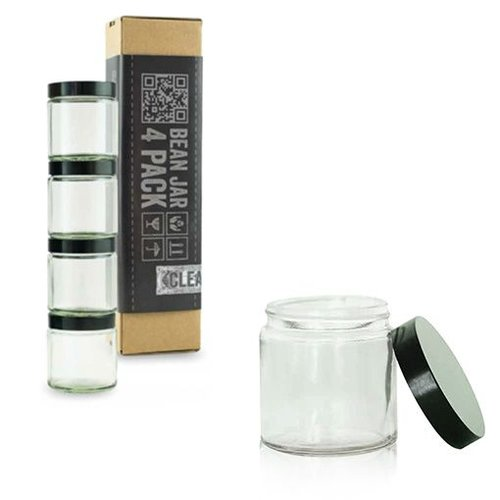Comandante Comandante Bean Jar - Clear Glass - 4 Pack