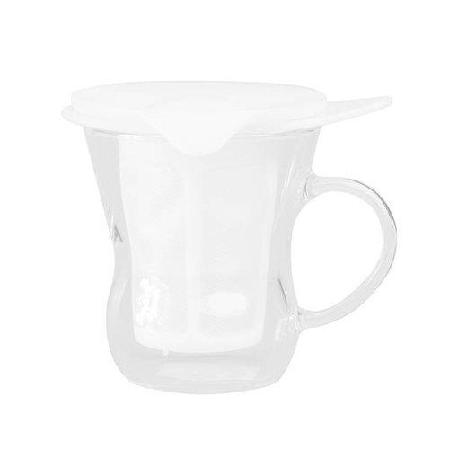 Hario Hario - One Cup Tea Maker - White 200ml - OTM-1NW