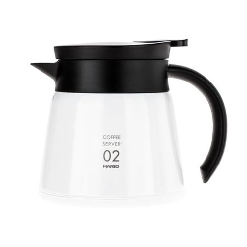 Hario Hario Insulated Stainless Steel Server V60-02 White - 600ml