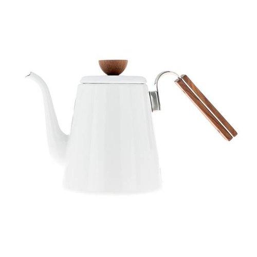 Hario Hario Bona Coffee Enamel Drip Kettle - 0,8l - BDK-80-W
