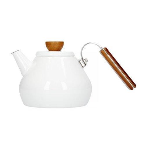 Hario Hario Bona Enamel Tea Kettle BTK-80-W