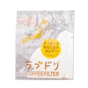 Hario Hario Love Dori - Loveripper - paper filters for V60-02 dripper
