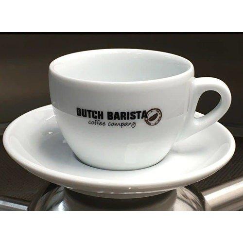 Dutch Barista Coffee Dutch Barista Coffee - Cappuccino kop & schotel, 180 cc