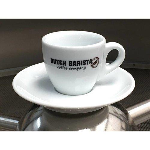 Dutch Barista Coffee Dutch Barista Coffee espressokop & schotel, 60cc
