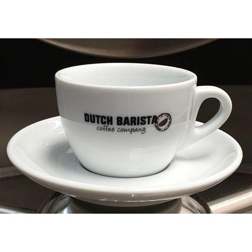 Dutch Barista Coffee Dutch Barista Coffee koffie / cappuccinokop & schotel, 150cc