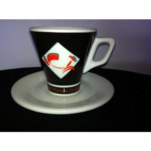 Dutch Barista Coffee Dutch Barista Coffee cappuccinokop classic zwart