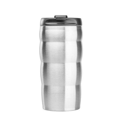 Hario Hario V60 Uchi Mug - Silver Thermal Mug - 350ml