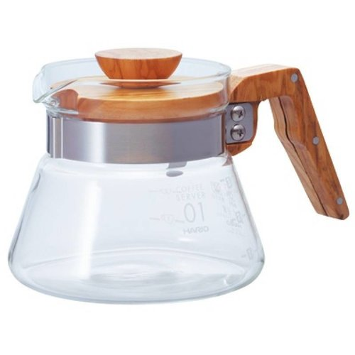 Hario Hario V60 Coffee server olive wood, VCWN-40-OV, 400ml
