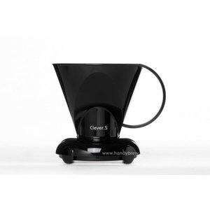 zwarte Clever coffee dripper 300ml