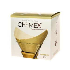 Chemex Chemex Square Paper Filters - Natural - 6, 8, 10 Cups