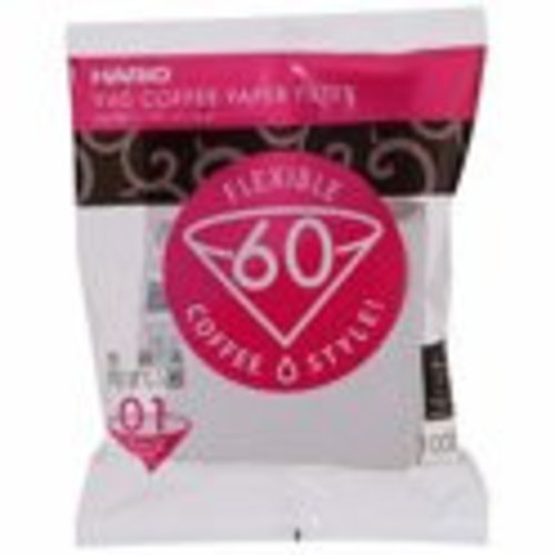 Hario Hario Filters 01 wit papier 100 stuks VCF-01-100W