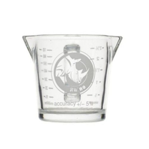 Rhinowares Rhinowares Double Shot Glass with Handle 70 ml