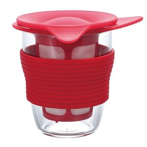 Hario Hario - Handy Tea Maker - Rood 200ml