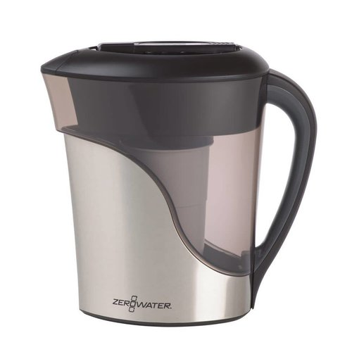 Zerowater ZeroWater 1,8 liter Stainless Steel Pitcher with Free TDS Meter