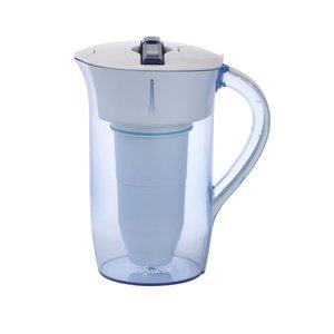 Zerowater ZeroWater – 2,4 liter ronde waterkan met TDS meter