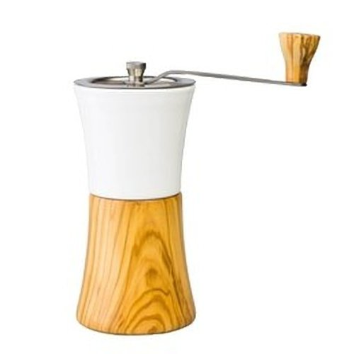 Hario Hario Ceramic Coffee Mill Olive Wood MCW-2-OV