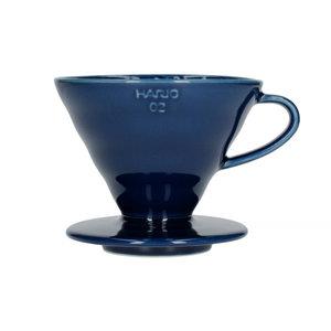 Hario Hario V60-02 Ceramic Coffee Dripper Indigo Blue VDC-02-IBU