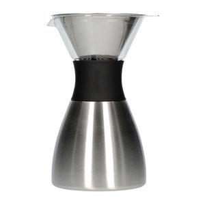 Asobu Asobu - pourover insulated coffee maker - silver / black