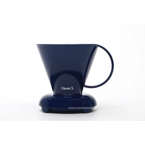 Clever coffeedripper blauw 300ml incl. papieren filters