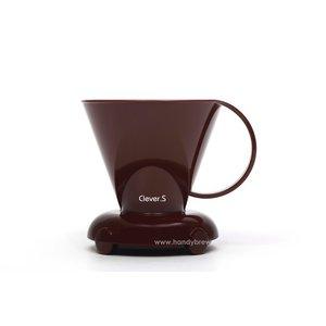 Clever coffeedripper bruin 300ml