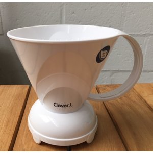Handybrew - Clever Clever coffeedripper white 500 ml incl. paper filters