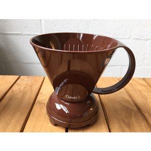 Clever coffeedripper bruin 500ml