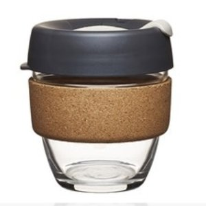 Keepcup KeepCup Brew Cork Small - Press- 227 ml Black