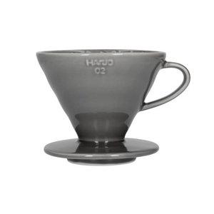Hario Hario V60-02 Ceramic Coffee Dripper Gray VDC-02GR
