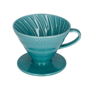 Hario Hario V60-02 Ceramic Coffee Dripper Turquoise Green VDC-02TQ