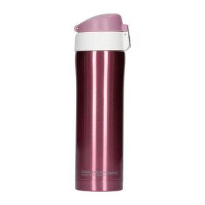 Asobu Asobu - Diva cup roze/wit - 450ml Reisfles