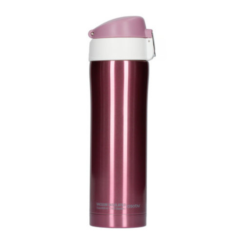 Asobu Asobu - diva cup pink / white - 450ml travel mug