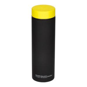 Asobu Asobu - Le Baton zwart/geel - 500ml reisfles