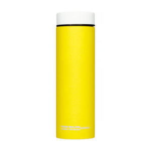 Asobu Asobu - Le Baton yellow / white - 500ml travel bottle