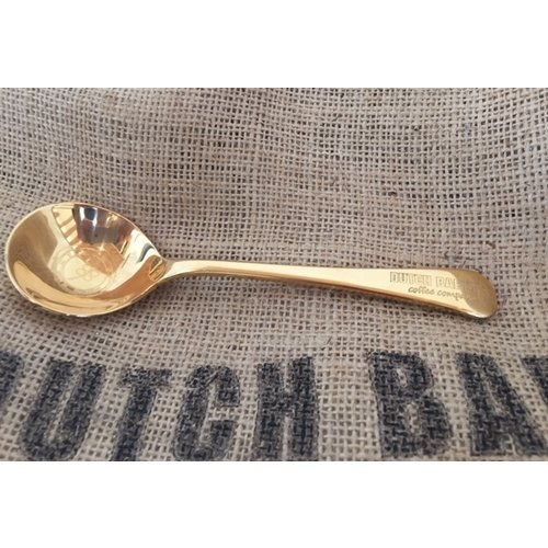 Dutch Barista Coffee Dutch Barista Cupping Spoon Gold Plated  Limited Edition