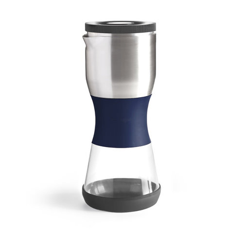 fellow Fellow Duo Coffee Steeper - donker blauw 4 kops